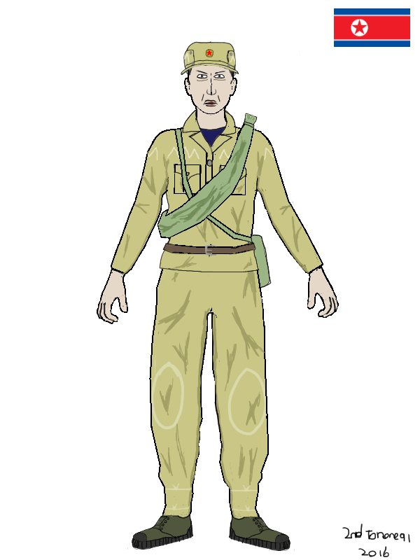 North Korean soldier by colt91
