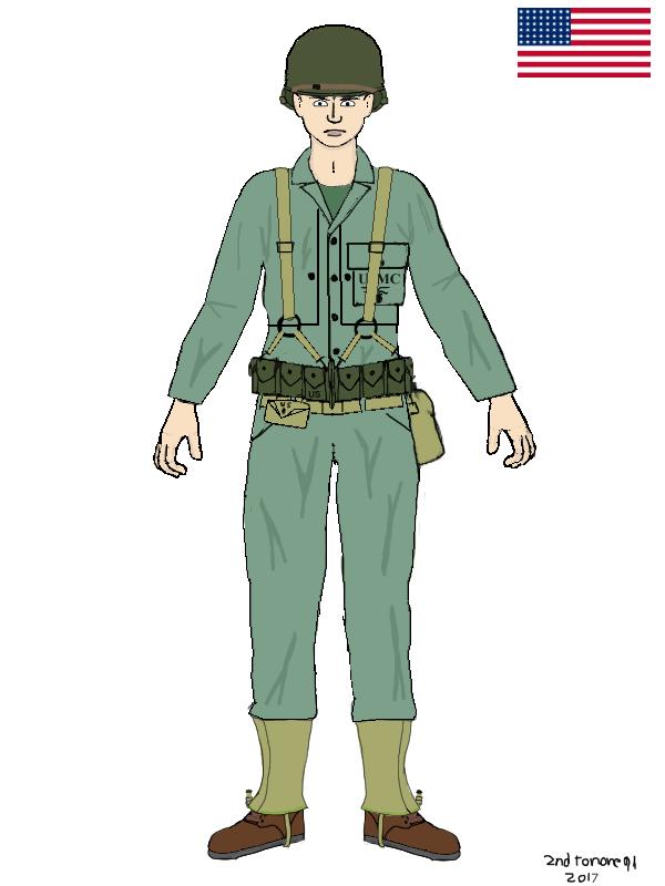 US Marine,Pusan by colt91