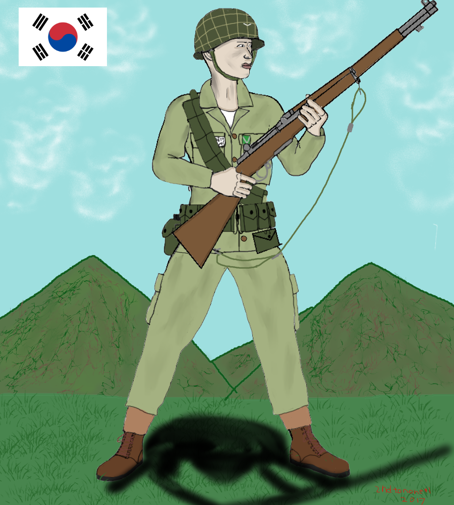 South Korean soldier (Summer) by colt91