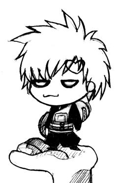 Gaara Doodle by comickid621
