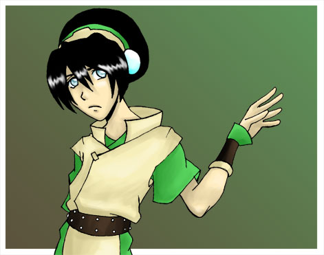 Toph by comickid621