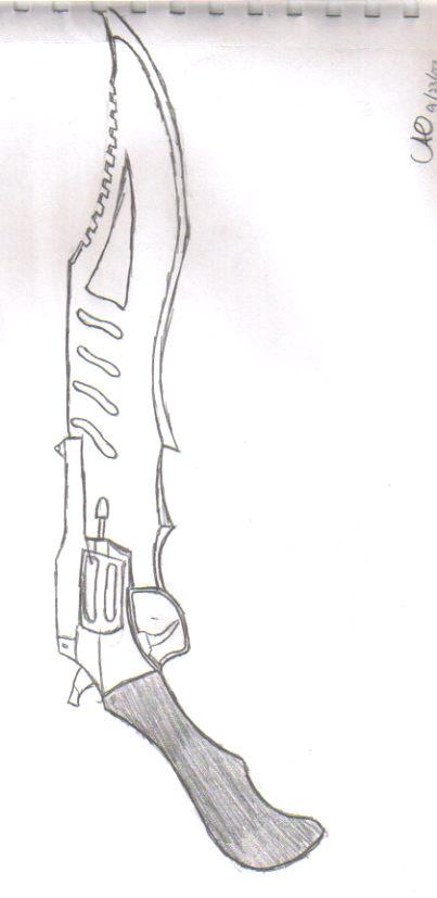 Gun Blade by conspiracytheorist1243