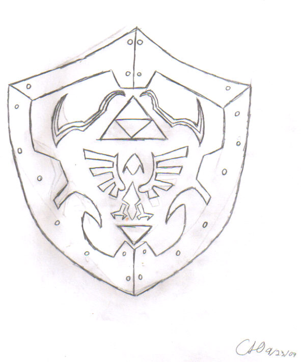 the hylian shield by conspiracytheorist1243