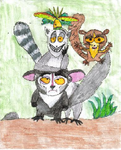 The Lemurs - Cute + derranged by corpsebecky