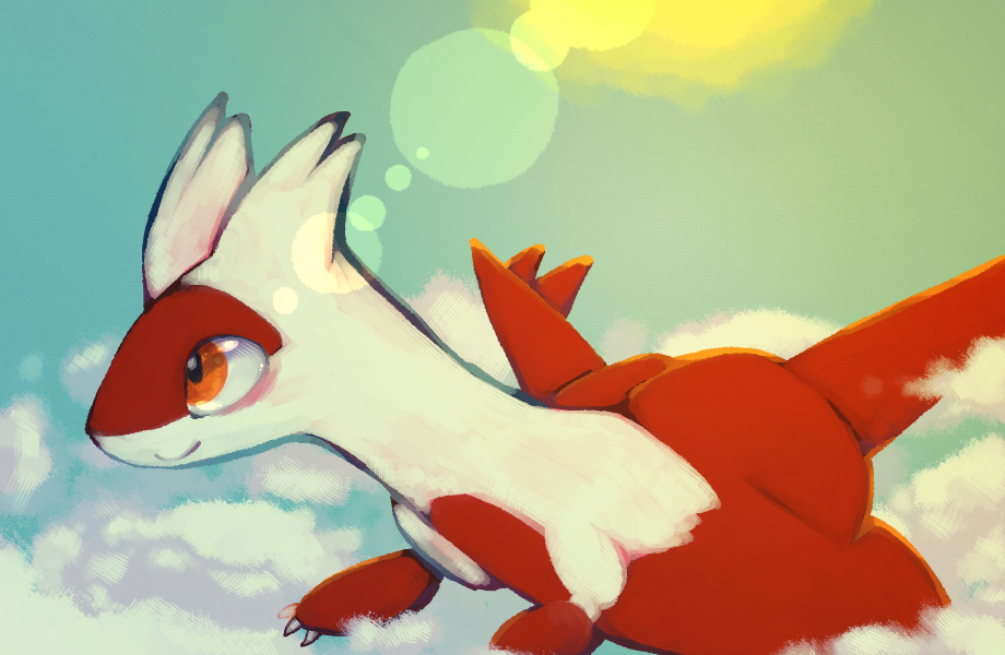 Latias by cottonboon