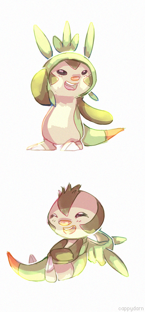 Chespin by cottonboon