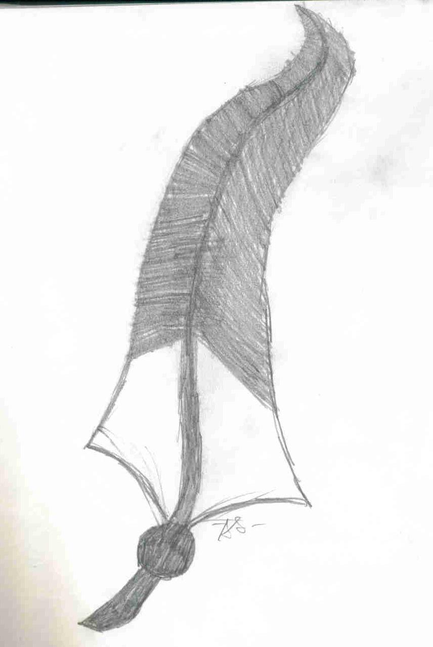 Chocobo Feather by crazicat06