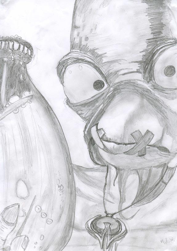 Abe (abe's odyssey) by crazyMon