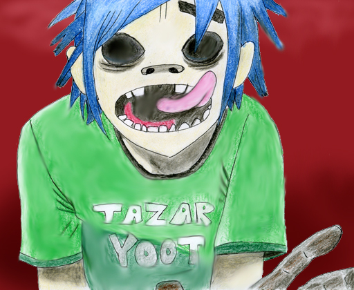 a colourful 2D by crazyMon