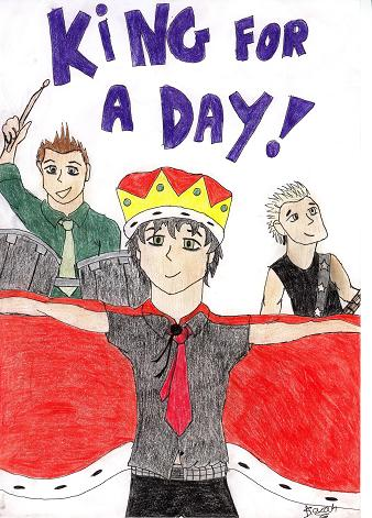 billie joe is king for a day by crazybasketcaseloonyfreak