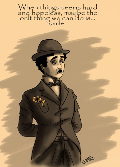 charlie chaplin by creepy-mily