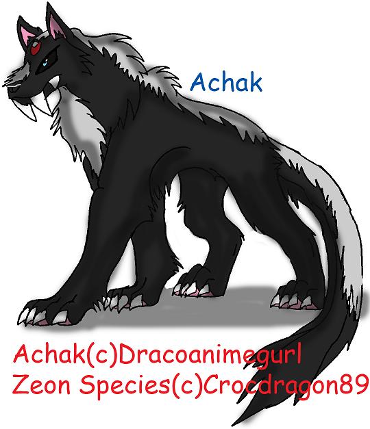 Achak (zeon monsterized) by crocdragon89