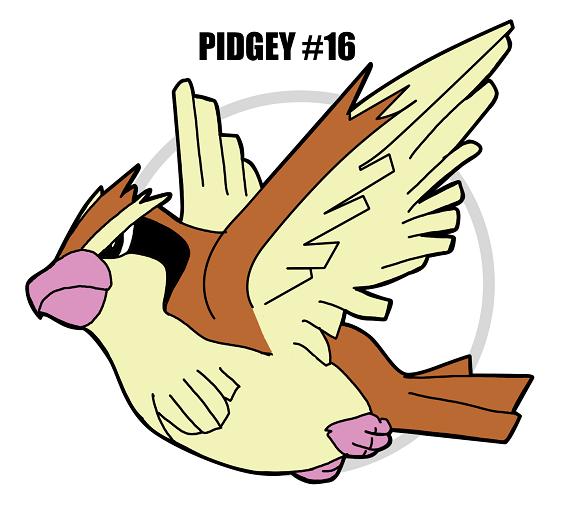 PIDGEY #16 by crocdragon89