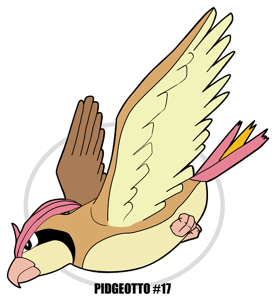 PIDGEOTTO #17 by crocdragon89
