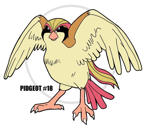 PIDGEOT #18 by crocdragon89