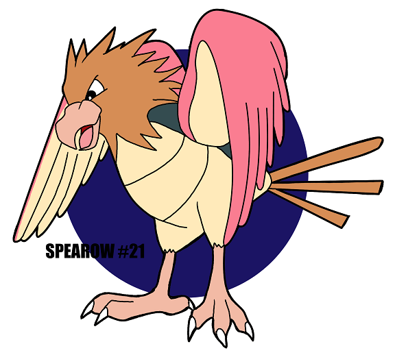 SPEAROW #21 by crocdragon89