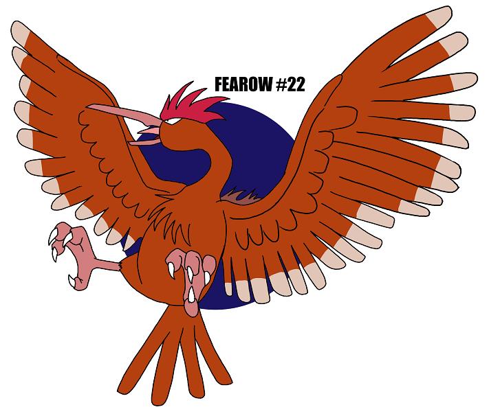 FEAROW #22 by crocdragon89