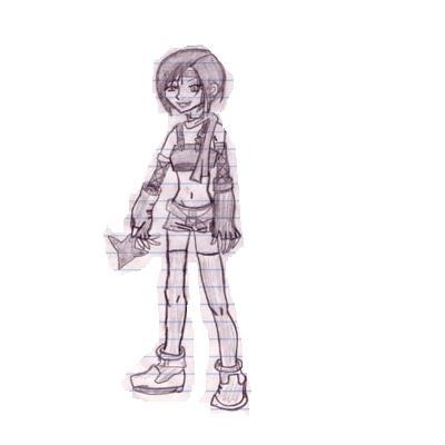 Yuffie!! by cyberkitty13