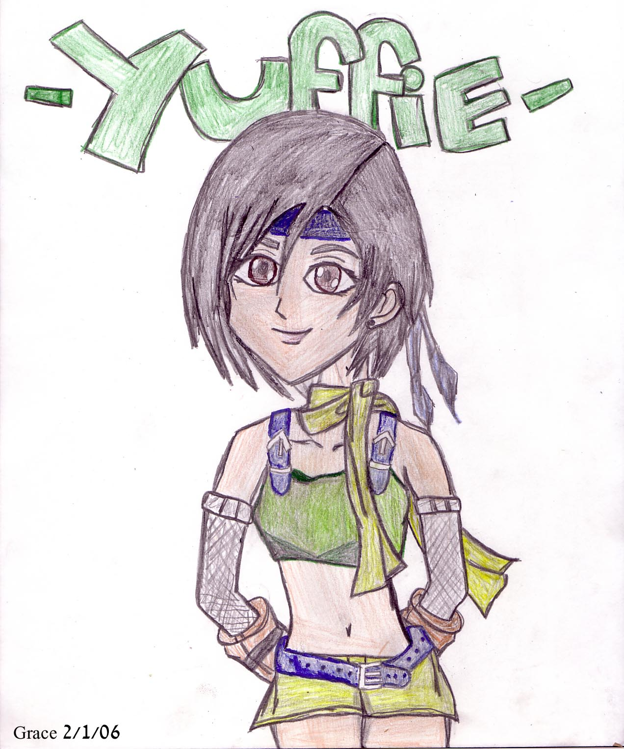 Yuffie by cyberkitty13