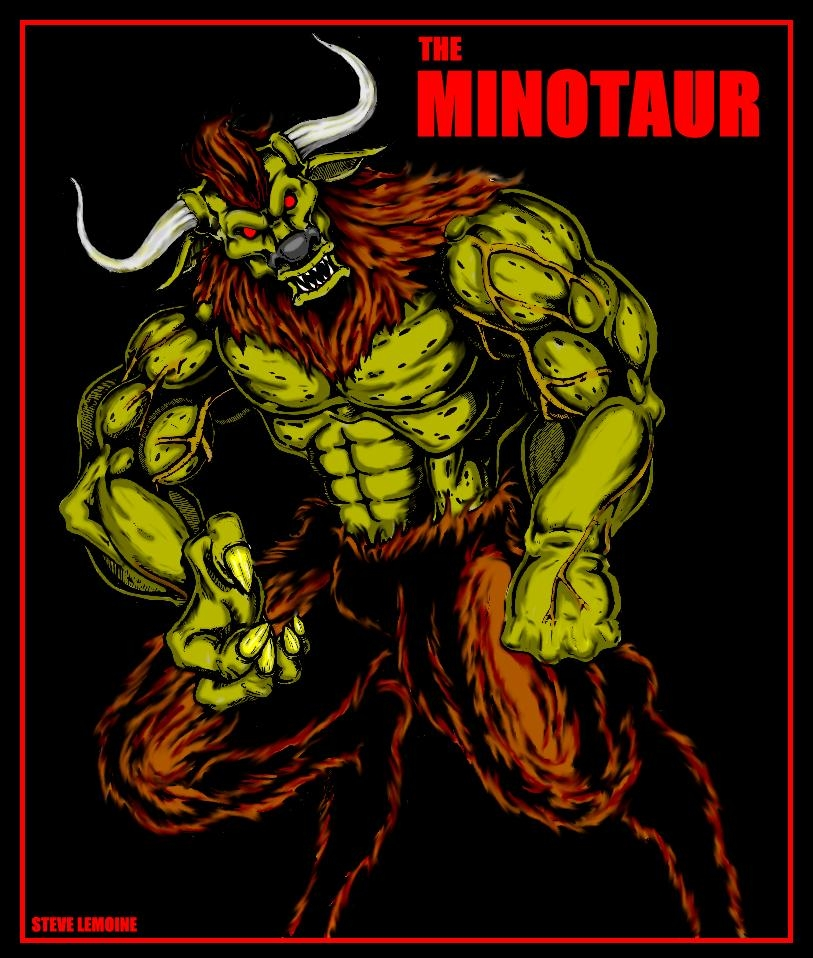 THE MINOTAUR by DARK_REIGN