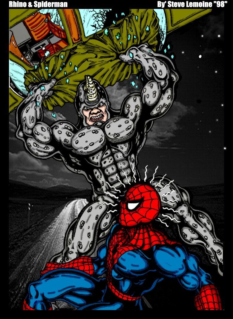 Rhino Spiderman Original by DARK_REIGN