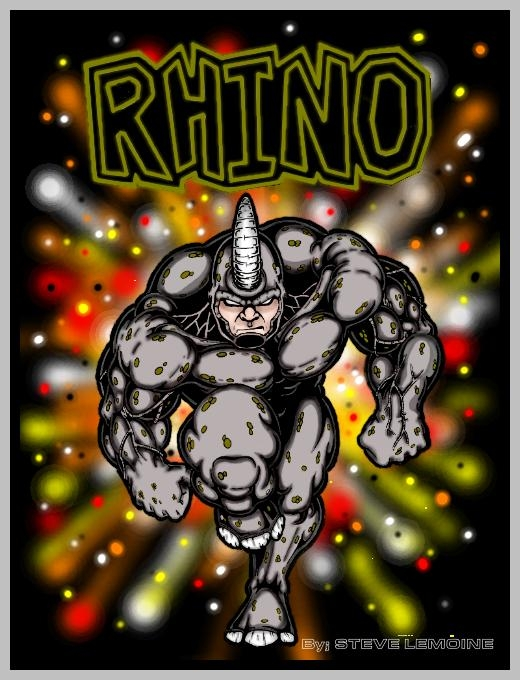 THE RHINO by DARK_REIGN
