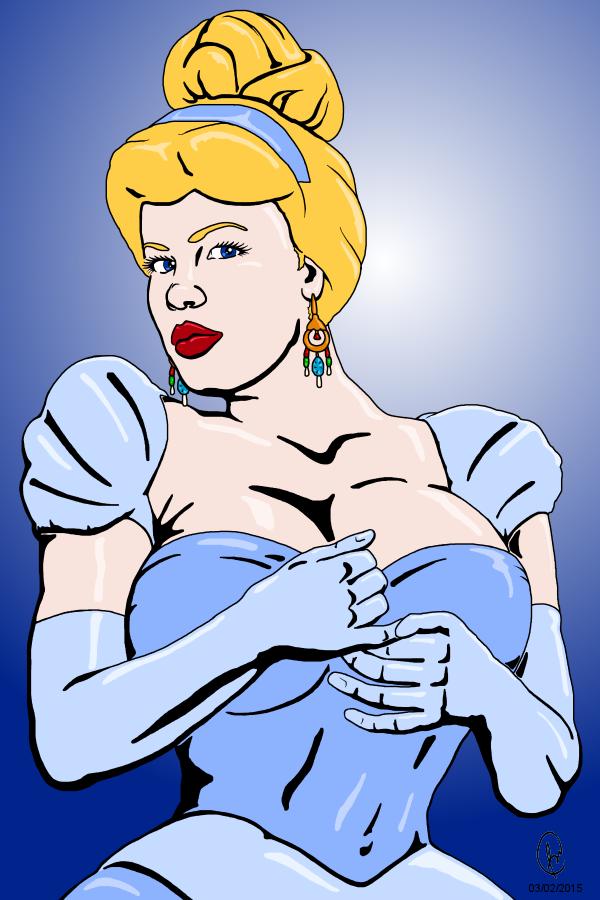 Cinderella by DaBear