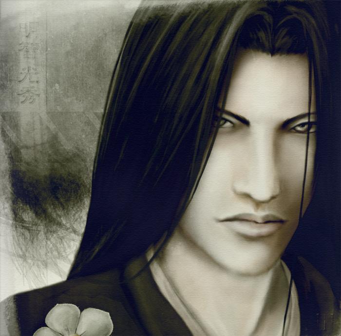 Akechi Mitsuhide by Dahlieka