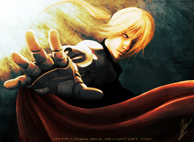 Edward Elric by Dahlieka