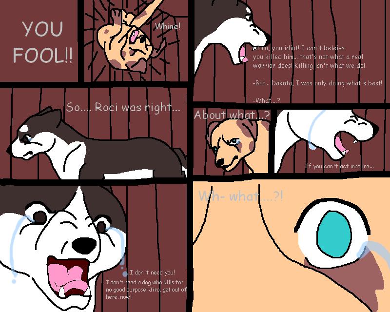 very crappy comic by Dakota0090