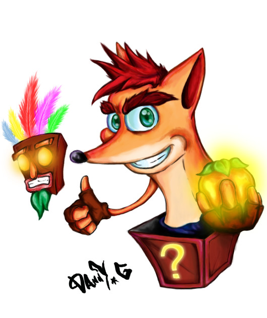 CrashBandicoot by DannyImaginedMonsters