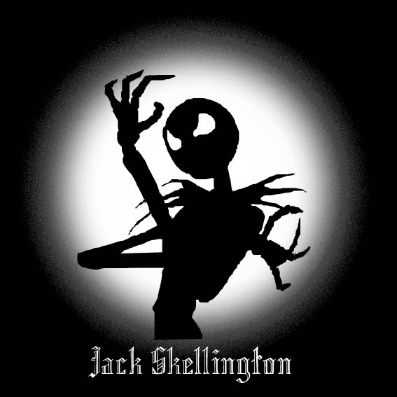 Jack Skellington Silhouette By Dantevergilloverar Fanart