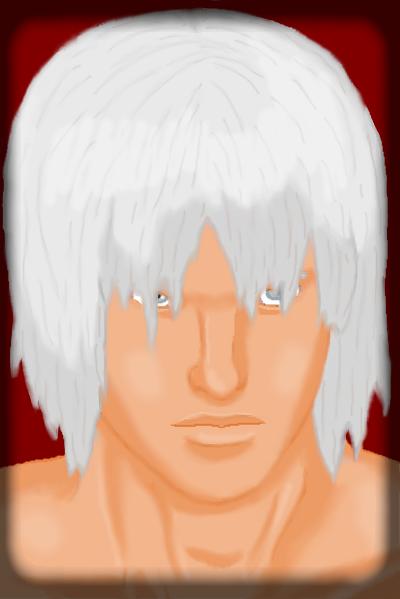 DMC3 Dante Portrait by DanteVergilLoverAR