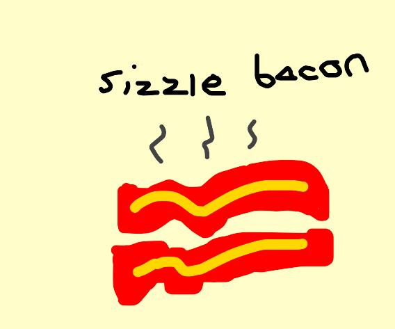 Bacon Sizzling by Dariusman143
