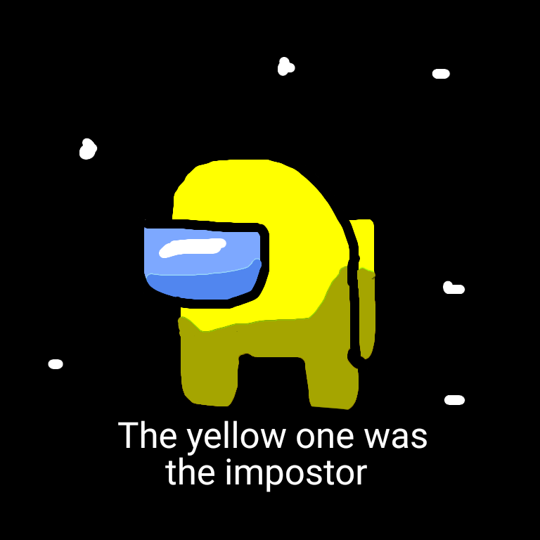The Yellow One Was The Impostor by Dariusman143