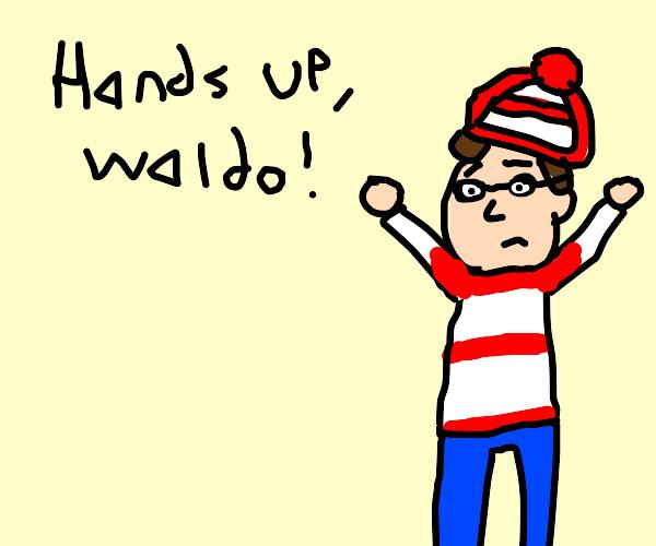 Hands Up, Waldo by Dariusman143