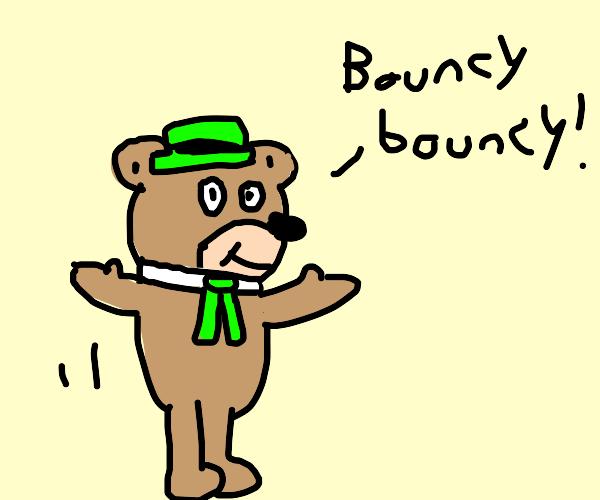 Yogi Bear Bounces by Dariusman143