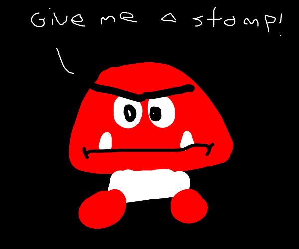 Goomba wants a Stomp by Dariusman143