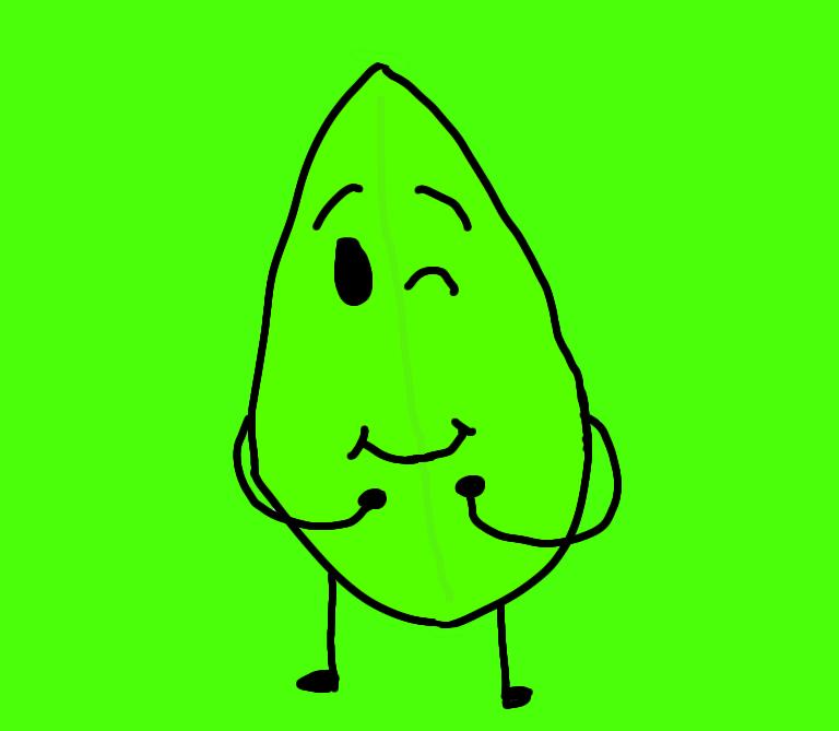 BFDI Leafy by Dariusman143