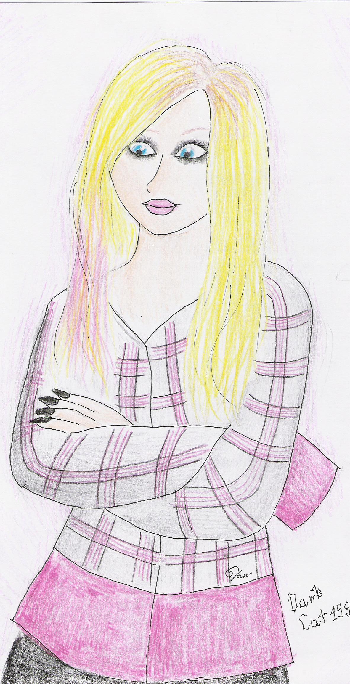Avril.My style by DarkCat159