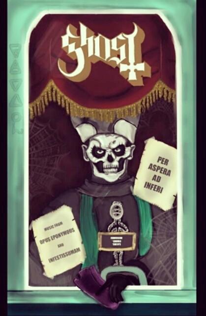 Papa Emeritus/ Creepshow Crossover! by DarkDragon11