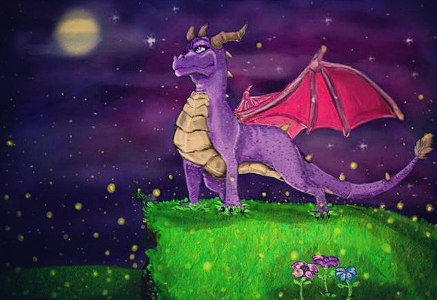 Spyro by DarkDragon11