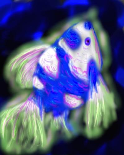 Radioactive Goldfish by DarkDragonMaster