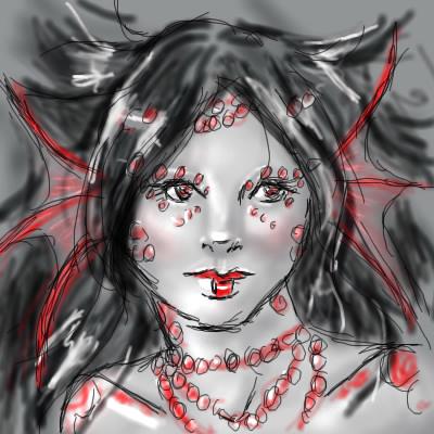 mermaid sketch2 by DarkDragonMaster