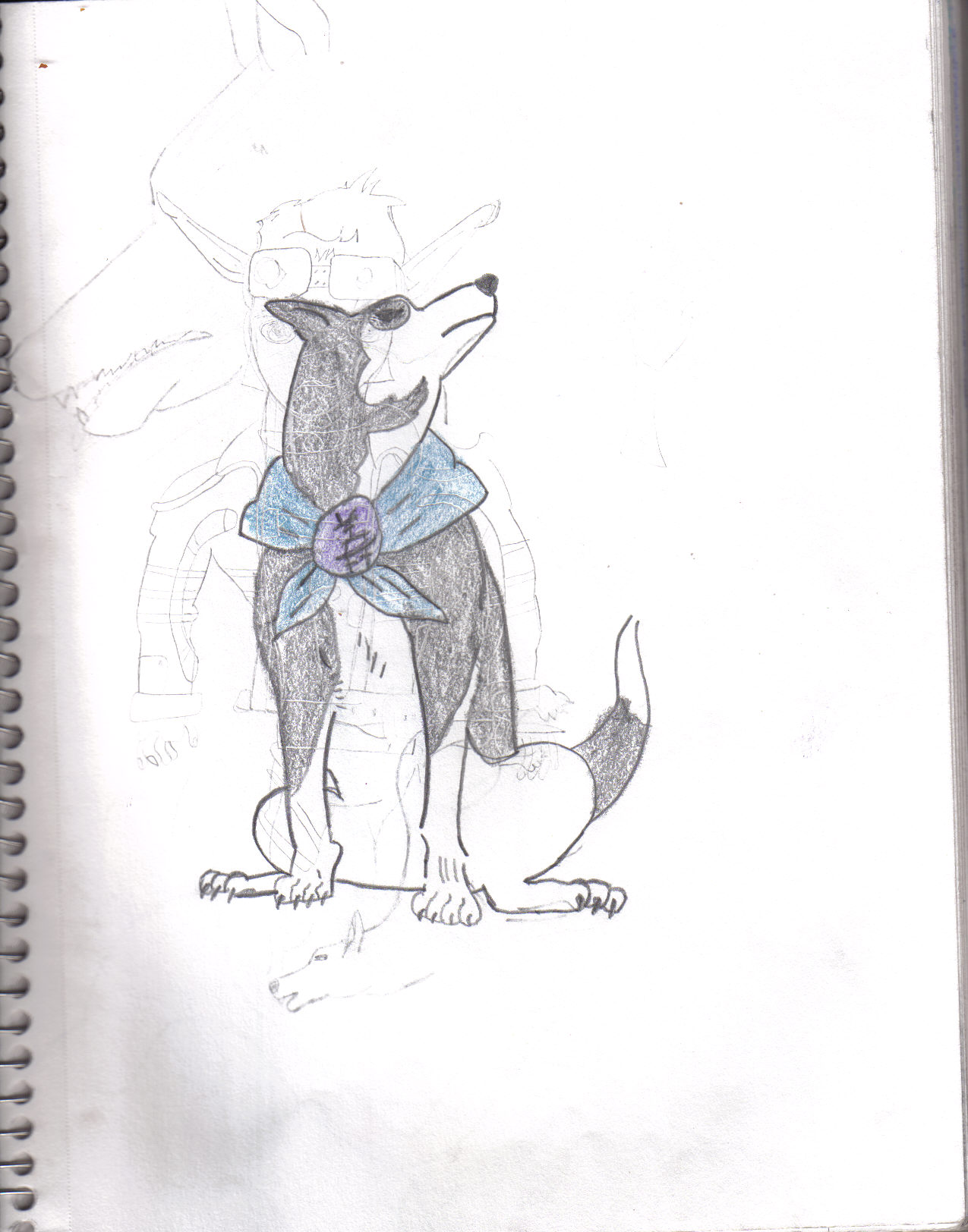 Canine Warrior Gi by DarkJakAngel01
