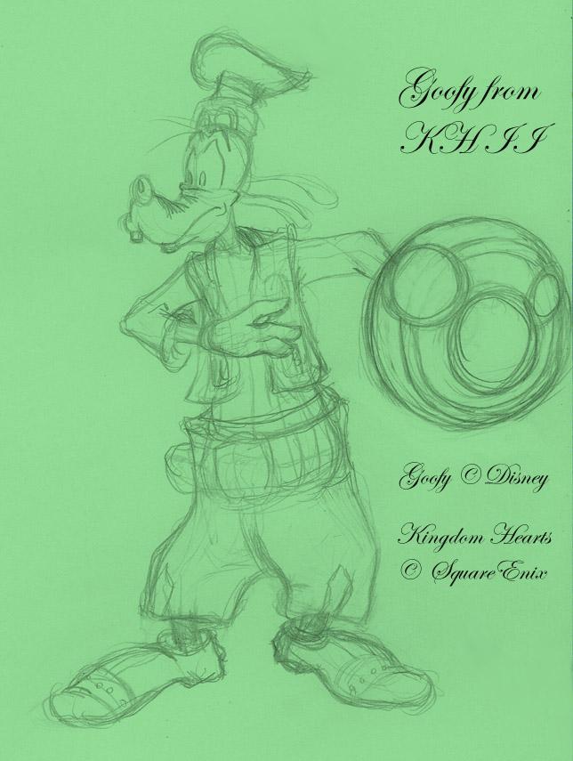 Goofy from Kingdom Hearts II by DarkMane