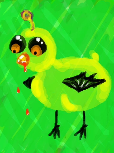 Creeper Duck by Dark_Angel_Of_Light
