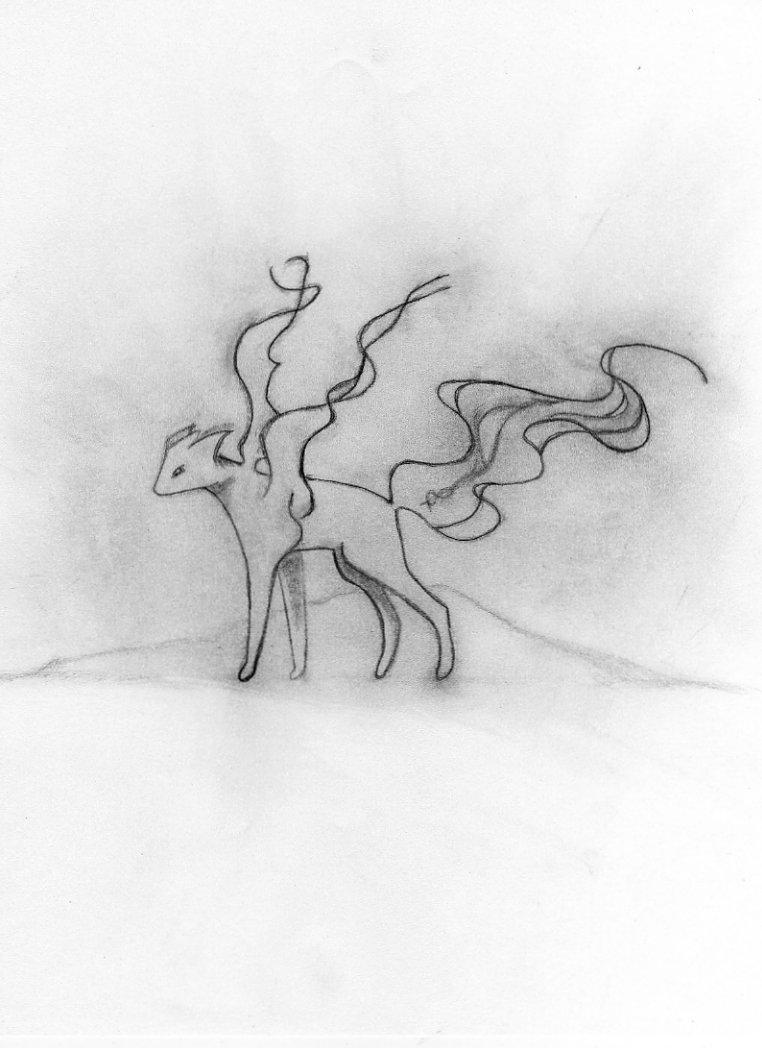 Eevee Ghost Evolution by Dark_Archsage