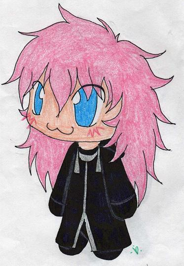 Marluxia chibi by Dark_Lani