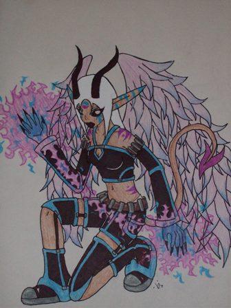 Angel of Darkness by Dark_Lani